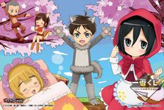 Attack on Titan Junior High Students Play Dress-Up with New Lottery Prizes - Interest - Anime News Network