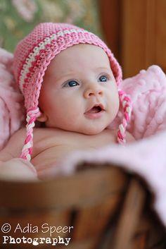 Cute, natural baby pic...