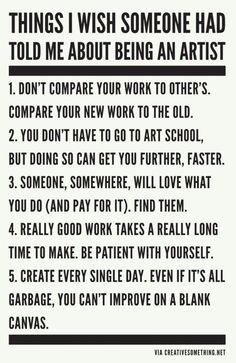 some good advice