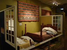 A charm of Bedford Springs - The National Museum of the American Coverlet; not duvet, not comforter, coverlet Bedford Pennsylvania, Pennsylvania History, Bedford Springs, Rug Hooking Designs, Old Quilts, Weaving Projects, How To Make Pillows, Interesting History, National Museum