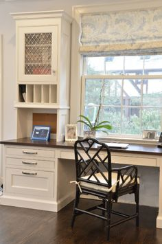 Kitchen Office. Window. Built in Desk. Great Chair.