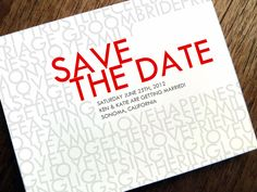 Whispering words of love and happiness on this printable Save the Date from e.m.papers. Instant download. Just enter your text into the PDF.