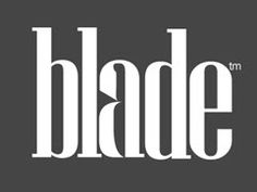 Blade - Well hidden in the negative space Take a closer look and you will find a hidden knife integrated in the letter A