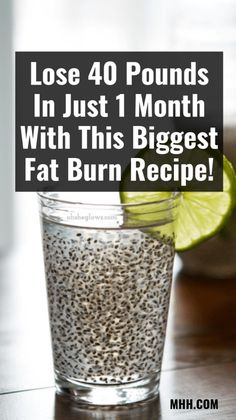 Lose 40 Pounds In Just 1 Month With This Biggest Fat Burn Recipe! fat burning detox drinks Lose 40 Pounds In Just 1 Month With This Biggest Fat Burn Recipe! Weight Loss Meals, Weight Loss Drinks, Diet Plans To Lose Weight, How To Lose Weight Fast, Lose Fat, Weight Gain, Losing Weight, Rapid Weight Loss, Weight Loss Detox
