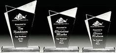 The infinity award Overland Park Awards - Acrylics/Crystal