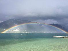 La beauté du lac d'Annecy