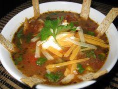 Boston Market Copycat Recipes: Chicken Tortilla Soup