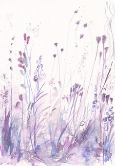 SPRING SALE Art Painting Print my Original watercolor by mallalu