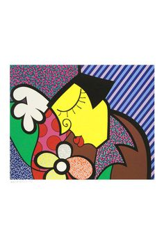 "Romero Britto Britto, Romero: Signed ""The Theater"""