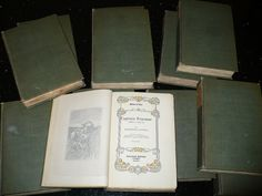 Vintage Book Sets The Works of Theophile Gautier by booksvintage