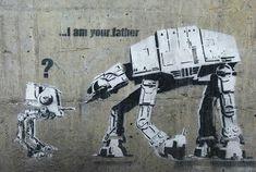 Star wars street art