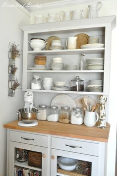 Love this baking area