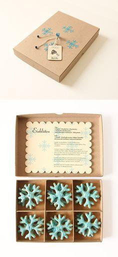Eisblüten Kekse [posting photo for inspiration only]  #DecoratedCookies #Cookies