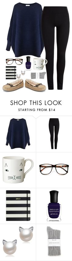 """""""OO1. Fall Sweaters"""" by southern-prep-xo ❤ liked on Polyvore featuring Paisie, Donna Wilson, ZeroUV, Kate Spade, Deborah Lippmann, Splendid and fallsweaters"""
