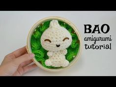 Here's a Bao amigurumi tutorial for a food crochet dumpling so cute, you'll want to eat it! Bao is a steamed bun or dumpling with a delicious filling. Crochet Hood, Crochet Amigurumi Free Patterns, Crochet Dolls, Free Crochet, Knitting Patterns, Little Bao, Headband Pattern, Camping Crafts, Disney Crafts