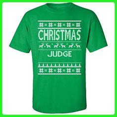 Christmas Judge Ugly Sweater - Adult Shirt 2xl Irish-green - Holiday and seasonal shirts (*Amazon Partner-Link)