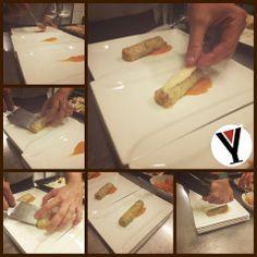 Cannellone di porro farcito di verdure e zucca, una alternativa vegetariana per la cena di questa domenica...