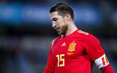 Download wallpapers Sergio Ramos, 4k, footballers, Spanish National Team, soccer, football