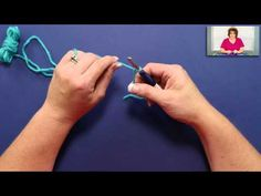 Crochet Slip Knot and Chain Stitch   Red Heart