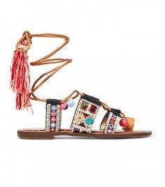 Sam Edelman pom-pom sandals.