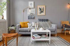 ¿Queréis ver un mueble muy versátil? Proponemos los sofás grises