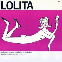 Lolita and poems read by Vladimir Nabokov Lolita Book, Vladimir Nabokov, Love At First Sight, Album Covers, Book Covers, Photo Illustration, Illustrations, Great Books, Pop Art