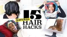 15 UNIQUE Natural Hair Hacks Every Girl Should Know!
