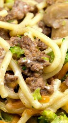 Frugal Food Items - How To Prepare Dinner And Luxuriate In Delightful Meals Without Having Shelling Out A Fortune One-Skillet Ground Beef Divan Ground Beef Dishes, Ground Beef Recipes, Ground Chuck Recipes, Ground Meat, Turkey Recipes, Pasta Dishes, Food Dishes, Main Dishes, One Pot Meals