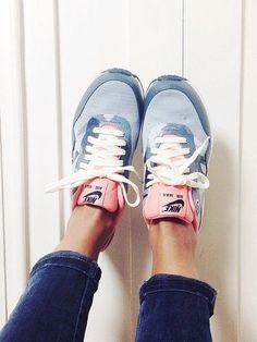 Les baskets pastel / Nike