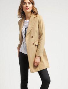New Look ANNETTO Płaszcz wełniany klasyczny camel