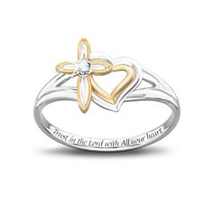 What a sweet ring for a daddy to give his daughter as a pledge to keep her heart safe, if she'll trust him with it, till together with the God's help they find the right man to give it to.--My hubby has already talked about doing this when we have a wee lil one someday =D