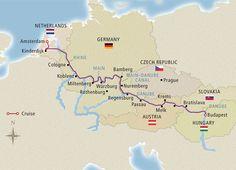Grand European Tour -  Amsterdam to Budapest - 15 day River Cruise