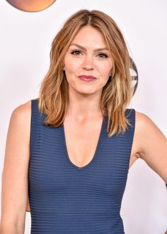 Aimee Teegarden attends the Disney ABC Television Group TCA Summer Press Tour on August 4, 2016 in Beverly Hills, California. - Disney ABC Television Group Hosts TCA Summer Press Tour