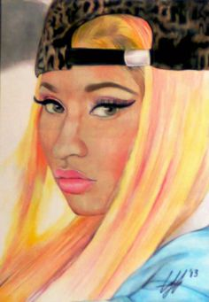 Nicki Minaj by ghosthorror