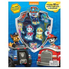 "Paw Patrol ""Stuck on Stories"" Sticker Book, Multicolor"