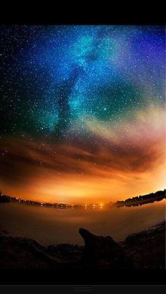 Alaska sky. Absolutely gorgeous