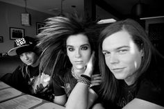 Bill Kaulitz, Tom Kaulitz, Georg Listing, Scream America Tour.