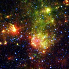 supernova | Supernova Remnant 1E0102.2-7219 Revealed by NASA's Spitzer Space ...