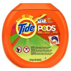 Tide Pods Laundry Detergent The best thing out there for any lazy college kid going to go do laundry.