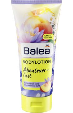 Bodylotion Abenteuerlust Pfirsich- und Wasserlilien-Duft