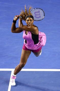 Serena Williams- greatest female tennis player ever. Venus Y Serena Williams, Serena Williams Tennis, Sport Tennis, Le Tennis, Tennis Live, Rafael Nadal, Maria Sharapova, Roger Federer, Foto Sport