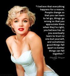 Marilyn's words......