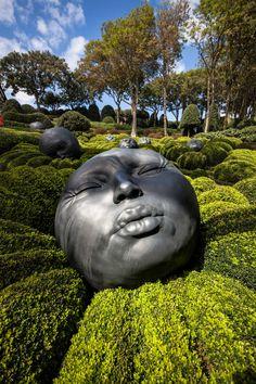 La magia de los jardines de Etretat en Normandía