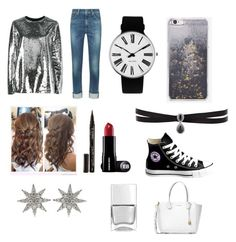 """""""What to wear for a concert"""" by alshaikh-hamda on Polyvore featuring MSGM, rag & bone, Nails Inc., Skinnydip, Smith & Cult, Rosendahl, Fallon, Converse, Michael Kors and Bee Goddess"""