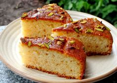 AMBROSIA: Egg less Vanilla Tea Cake | Butter free Cake