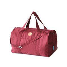 NIION INDONESIA   Maroon Duffel Bag
