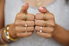 Put A Ring On It! :) @Vita Fede crystal rings