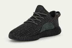 "Official Images Of The adidas Yeezy 350 Boost ""Pirate Black"" - SneakerNews.com"