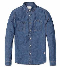 SIMWOOD Casual Long sleeve Cotton Shirt