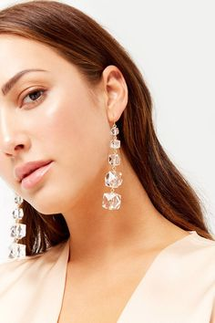 Tiered Drop Earrings | Forever21